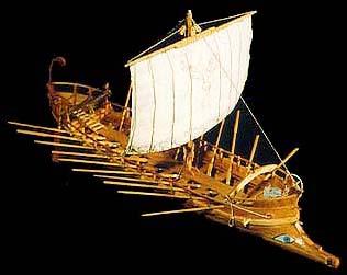 REMOTE IMAGE: GREEK WARSHIP